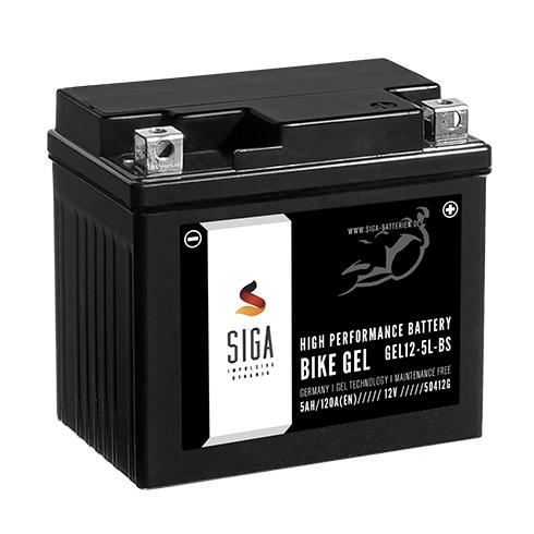 siga gel roller batterie 5ah 130a en 12v gel12 4l b. Black Bedroom Furniture Sets. Home Design Ideas