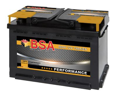 Autobatterie BSA Performance 80Ah