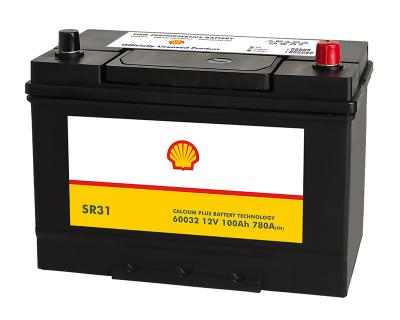 Shell Asia 100Ah Autobatterie 60032