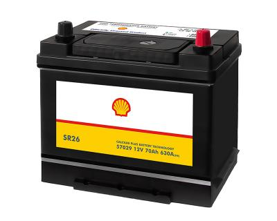 Shell Asia 70Ah Autobatterie 57029