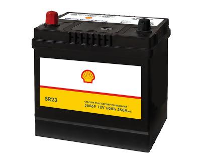Shell Asia 60Ah Autobatterie 56069