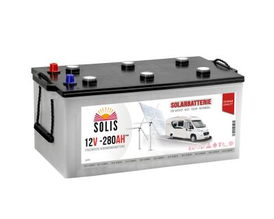 Solis Solarbatterie 230AH Boots Wohnmobil