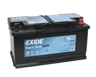 exide agm 95ah autobatterie. Black Bedroom Furniture Sets. Home Design Ideas