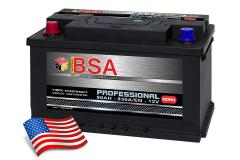 BSA Autobatterie Professional 90Ah +Pol Links
