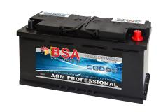 BSA AGM Professional 120Ah Solarbatterie