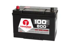 Tokohama Asia Japan Autobatterie 12V / 100AH / 800A/EN + Plus Pol Links